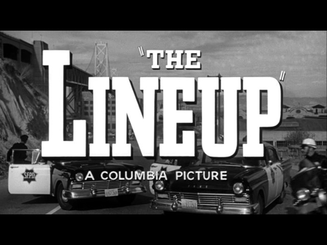 The Lineup movie trailer title