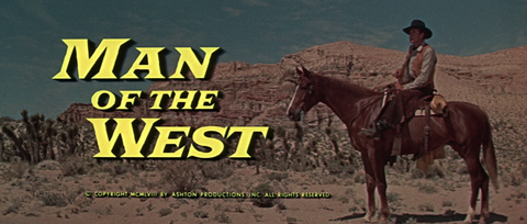 Man of the West (1958) Gary Cooper - Blu-ray movie title
