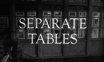 Separate tables (1958) Burt Lancaster - blu-ray movie title