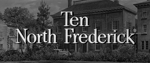 Ten North Frederick (1958) Gary Cooper - Blu-ray movie title