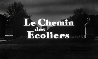 Le chemin des écoliers / Way of Youth (1959) Lino Ventura - blu-ray movie title