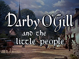 Darby O'Gill and the Little People (1959) Sean Connery - HD movie title