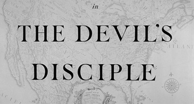 The Devil's Disciple (1959) Burt Lancaster - blu-ray movie title