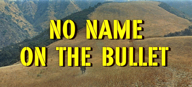 No Name on the Bullet (1959) blu-ray movie title