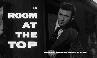 Room at the Top (1959) Simone Signoret - blu-ray movie title