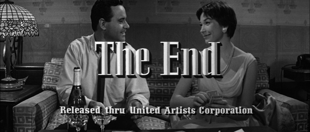 Opening Credits U2013 Typography The End