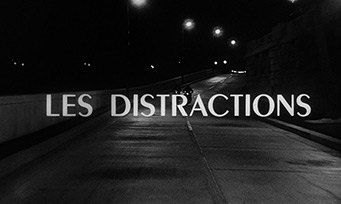Les distractions / Trapped by Fear (1960) Mireille Darc - blu-ray movie title