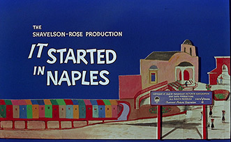 It Started in Naples (1960) Paramount Pictures