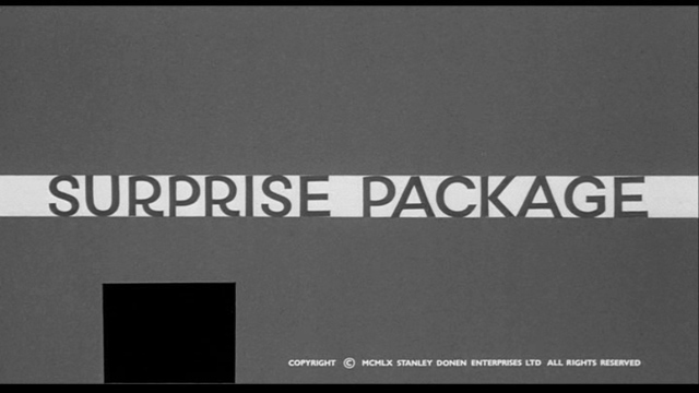 Surprise Package (1960) movie title