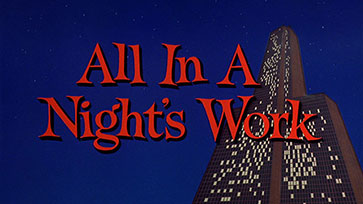 All in a Night's Work (1961) Paramount Pictures