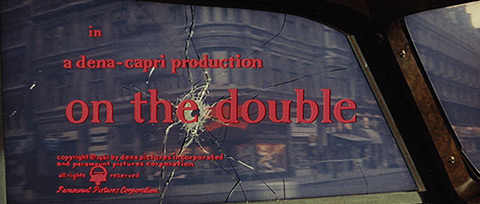 On the Double (1961) Paramount Pictures - blu-ray movie title