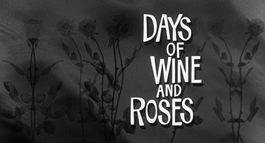 Days of Wine and Roses (1962) Blake Edwards - blu-ray movie title
