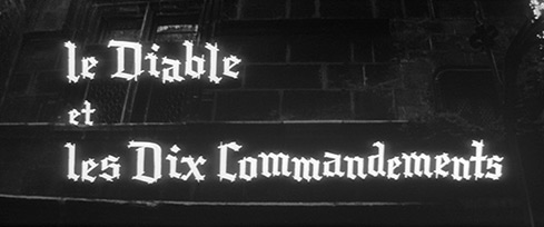 Le Diable et les Dix Commandements / The Devil and the Ten Commandments (1962) Mireille Darc - blu-ray movie title