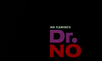 Dr. No (1962) Sean Connery - blu-ray movie title