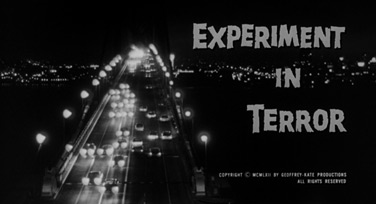Experiment in Terror (1962) Blake Edwards - blu-ray movie title