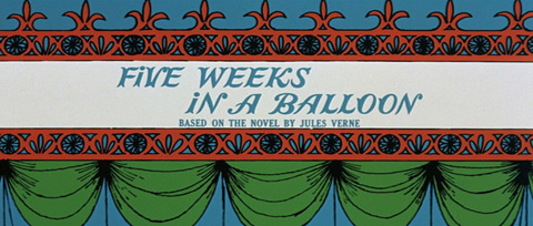 Five Weeks in a Balloon (1962) 20th Century Fox - Blu-ray movie title