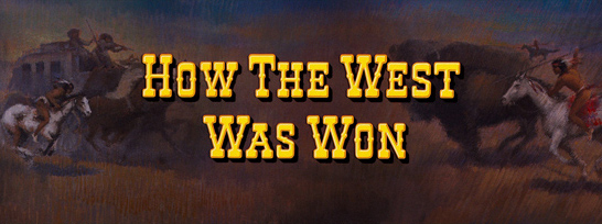 How the West Was Won (1962) blu-ray movie title
