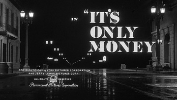 It's Only Money (1962) Jerry Lewis