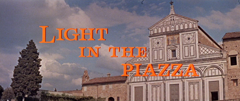 Light in the Piazza (1962) movie title