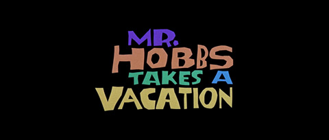 Mr. Hobbs Takes a Vacation (1962) James Stewart - blu-ray movie title