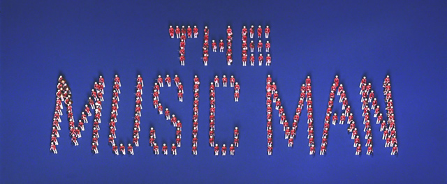 The Music Man 1962 movie title sequence