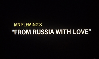 From Russia with Love (1963) Sean Connery