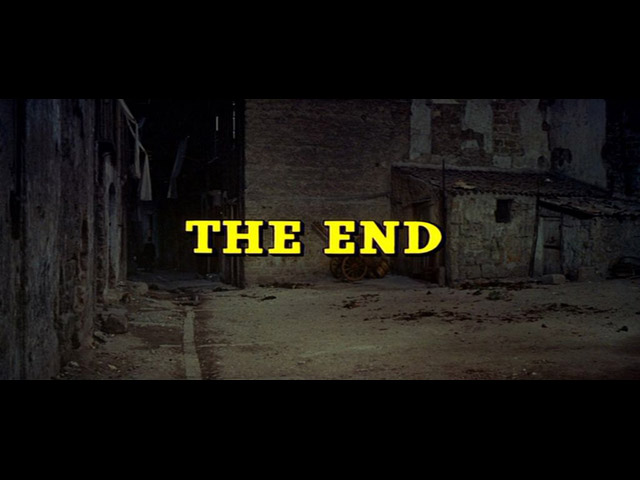 image: The leopard movie end title