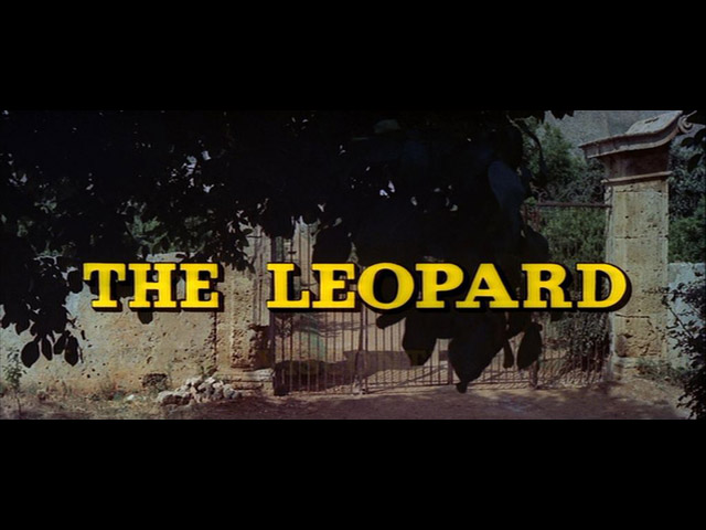 image: The leopard movie title