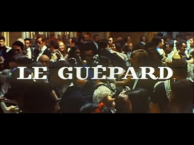 The leopard French movie trailer title