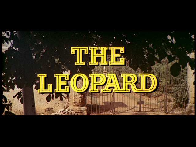 image: The leopard movie trailer title