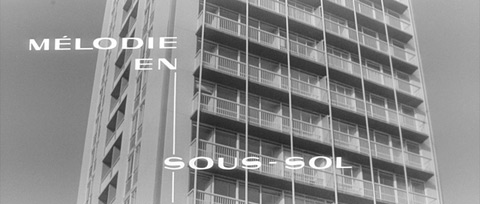 Mélodie en sous-sol / Any Number Can Win (1963)