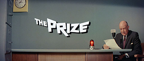 The Prize (1963) Paul Newman - blu-ray movie title