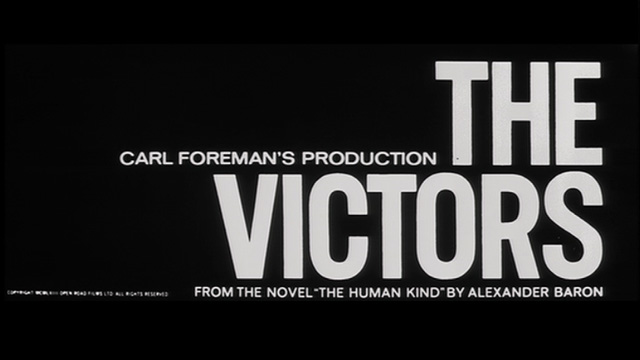Saul Bass - The Victors (1963) title sequence