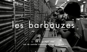 Les Barbouzes (1964) Mireille Darc - blu-ray movie title