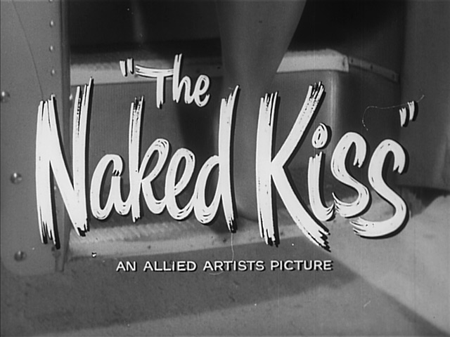 The Naked Kiss movie trailer title