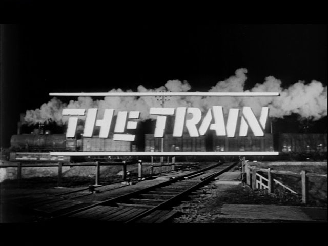 The Train movie trailer title