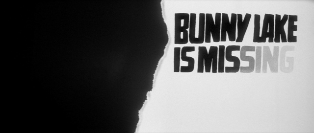 Saul Bass - Bunny Lake is missing (1965) title sequence