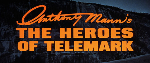 The Heroes of Telemark (1965) Anthony Mann - blu-ray movie title