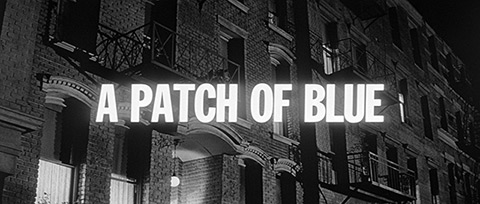 A Patch of Blue (1965) Sidney Poitier - blu-ray movie title