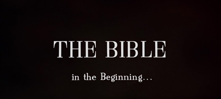 The Bible: In the Beginning... (1966) Ennio Morricone - blu-ray movie title