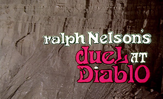 Duel at Diablo (1966) Sidney Poitier - blu-ray movie title