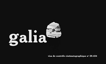 Galia (1966) Mireille Darc - blu-ray movie title