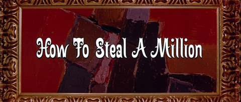 How to Steal a Million (1966) Blu-ray movie title