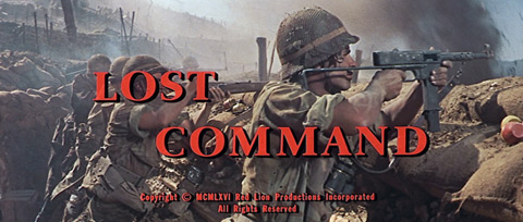Lost Command (1966) Claudia Cardinale - blu-ray movie title