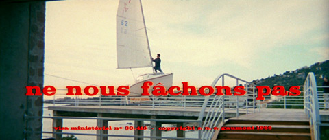 Ne nous fâchons pas / Let's Not Get Angry (1966) Lino Ventura - blu-ray movie title