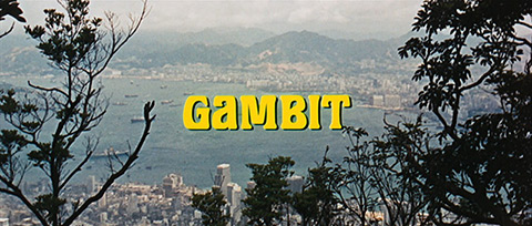Universal Pictures: Gambit (1966) title sequence