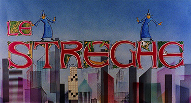 Alberto Sordi: Le streghe / The Witches (1967) title sequence