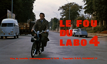 Le Fou du labo 4 / The Madman of Lab Four (1967) CTR - title sequence
