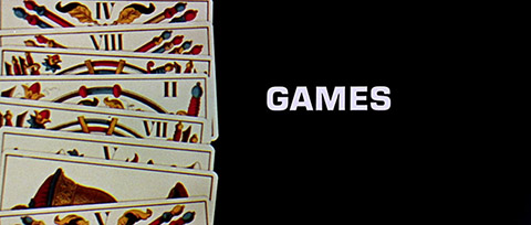Games (1967) Universal Pictures - blu-ray movie title