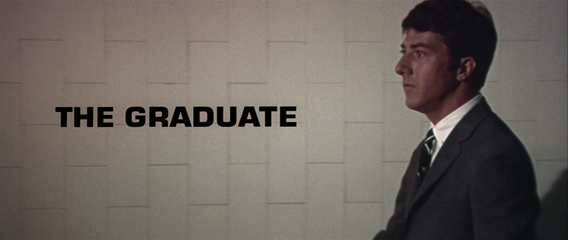 The Graduate (1967) Dustin Hoffman - Blu-ray movie title